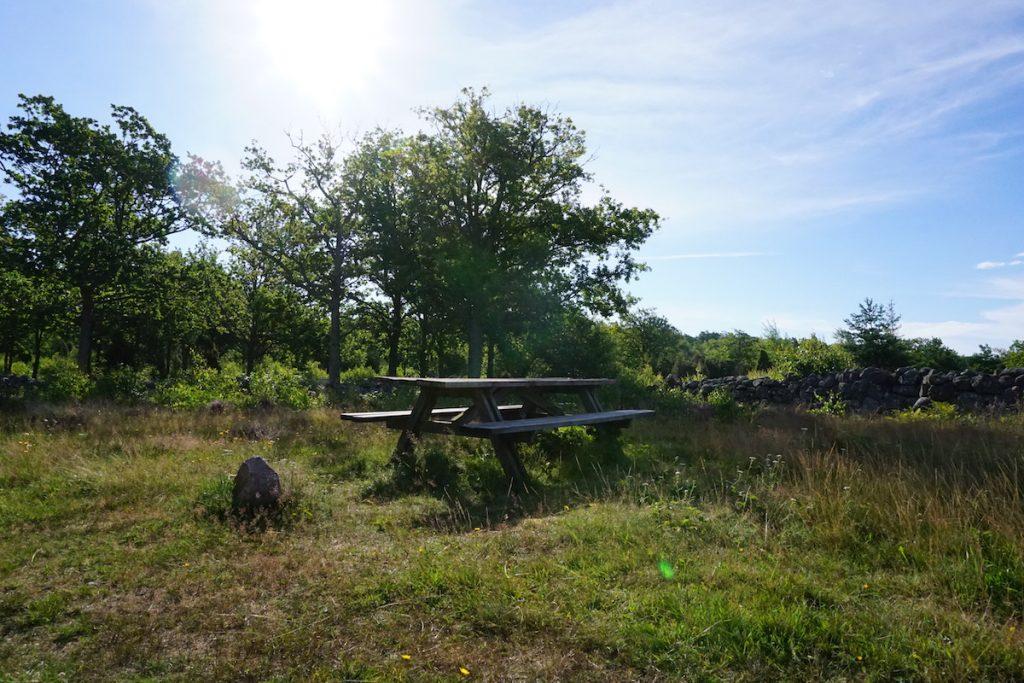 Picknickbank Schweden